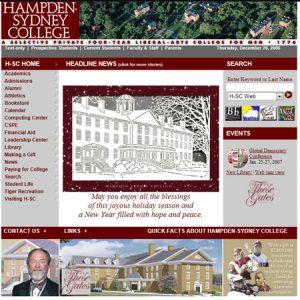 2006 homepage