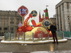 Countdown to the World Cup in Russia