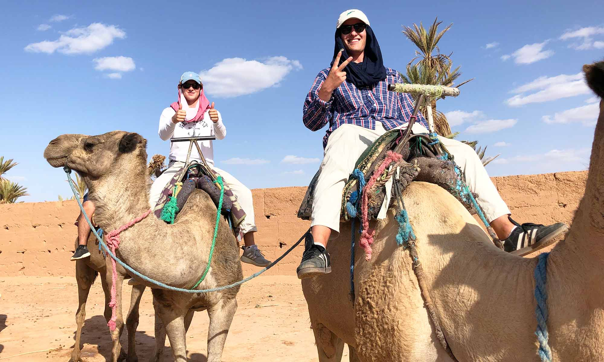 Will Driskoll camel riding