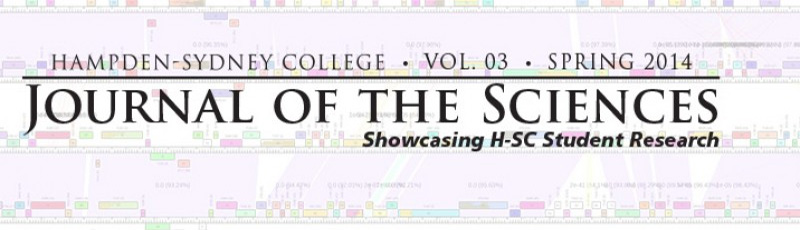 Journal of the Sciences masthead 2014