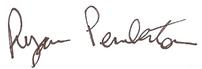 director's signature
